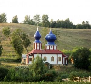 Храм в честь Казанской иконы Божией Матери, д. Ерыкла